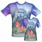 All Over Print He-Man T-Shirt
