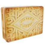Custard Cream Storage Tin
