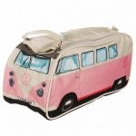 Retro Pink VW Campervan Wash Bag