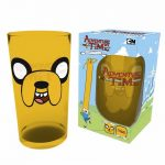 Adventure Time Jake Large Glass
