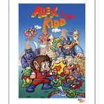 Alex Kidd In Miracle World 11.7 x 16.5″ Art Print""