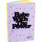 Babe With The Power A5 Notebook from Tatty Devine