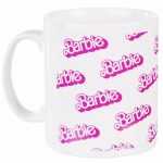 Barbie Repeat Print Logo Mug
