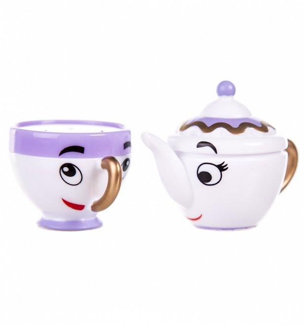 d23c66895 A great combo in the film, and a gorgeous combo in this lip gloss set –  were head over heels in love with the adorable Mrs Potts and Chip!