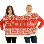 Believe In Magic Knitted Twosie Jumper from Cheesy Christmas Jumpers