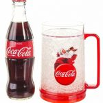 Coca-Cola Santa Christmas Chiller Mug And Contour Bottle