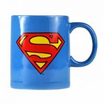 DC Comics Superman Logo Mug with Biscuit Holder