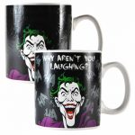 DC Comics The Joker Laughing Heat Changing Mug