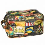 DC Comics Vintage Print Wash Bag