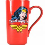 DC Comics Wonder Woman Quote Latte Mug