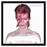 David Bowie Aladdin Sane 12 Album Cover Print""