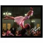 Dirty Dancing Lift Framed Print 30 x 40cm