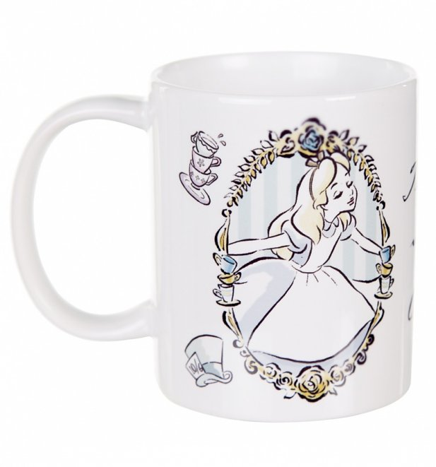 Wonderland Alice MugRetro Disney Tea In Time Shop Uk b7f6gy