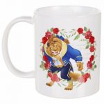 Disney Beauty And The Beast Roses Mug