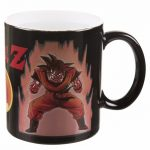 Dragon Ball Super Saiyan Heat Changing Mug