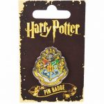 Enamel Harry Potter Hogwarts Badge
