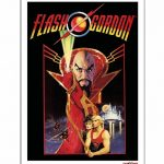 Flash Gordon 11.7 x 16.5″ Art Print""