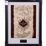 Framed Harry Potter Marauder's Map 30 x 40cm Collectors Print