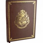Harry Potter Hogwarts Gold Crest Notebook
