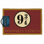Harry Potter Platform 9 And 3/4 Hogwarts Express Doormat