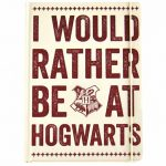 Harry Potter Rather Be At Hogwarts A5 Notebook