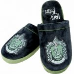 Harry Potter Slytherin Crest Slip On Slippers