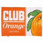 Jacob's Retro Orange Club Bar Tea Towel