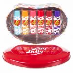 Jelly Belly Set Of 6 Lip Balms Gift Tin