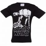 Kids Black Star Wars AT-AT T-Shirt