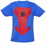 Kids Blue Spider-Man Costume T-Shirt