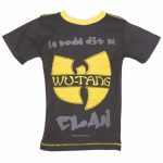 Kids Charcoal Wu-Tang Clan Logo T-Shirt from Amplified Kids