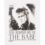Labyrinth You Remind Me Of The Babe 11 X 14″ Art Print""