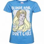 Women's Blonde Hair Don't Care She-Ra T-Shirt