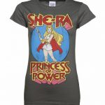 Women's Charcoal She-Ra Princess Of Power T-Shirt