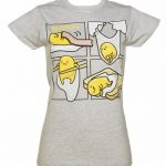 Women's Gudetama Panels T-Shirt