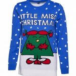EXCLUSIVE Women's Little Miss Christmas Knitted Jumper