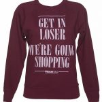 Women's Mean Girls Regina George Quote Lightweight Sweater