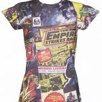 Women's Star Wars Comic Print Sublimation T-Shirt