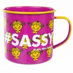 Little Miss Sunshine Sassy Enamel Mug