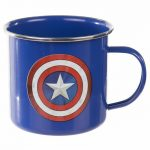 Marvel Comics Captain America Enamel Mug