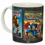 Marvel Comics Characters Heat Change Mug