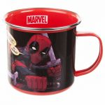 Marvel Comics Deadpool Enamel Mug