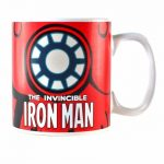 Marvel Comics Iron Man Heat Changing Mug