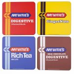 McVitie's Biscuits Set Of 4 Coasters