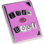 Mean Girls Inspired Burn Book Enamel Pin from Punky Pins