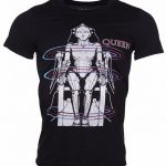Men's Black 1984 Queen European Tour T-Shirt