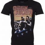 Men's Black Classic Easy Rider T-Shirt