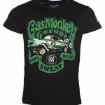 Men's Black Fast N' Loud Gas Monkey Garage Gasser T-Shirt