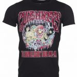 Men's Black Guns N Roses Illusions Tour T-Shirt