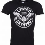 Men's Black Lynyrd Skynyrd Freebird 73 Wings T-Shirt